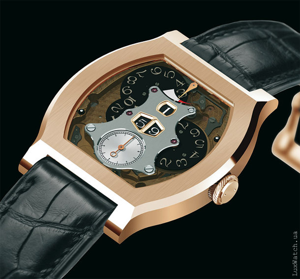F.P. Journe Vagabondage II Rose Gold 2