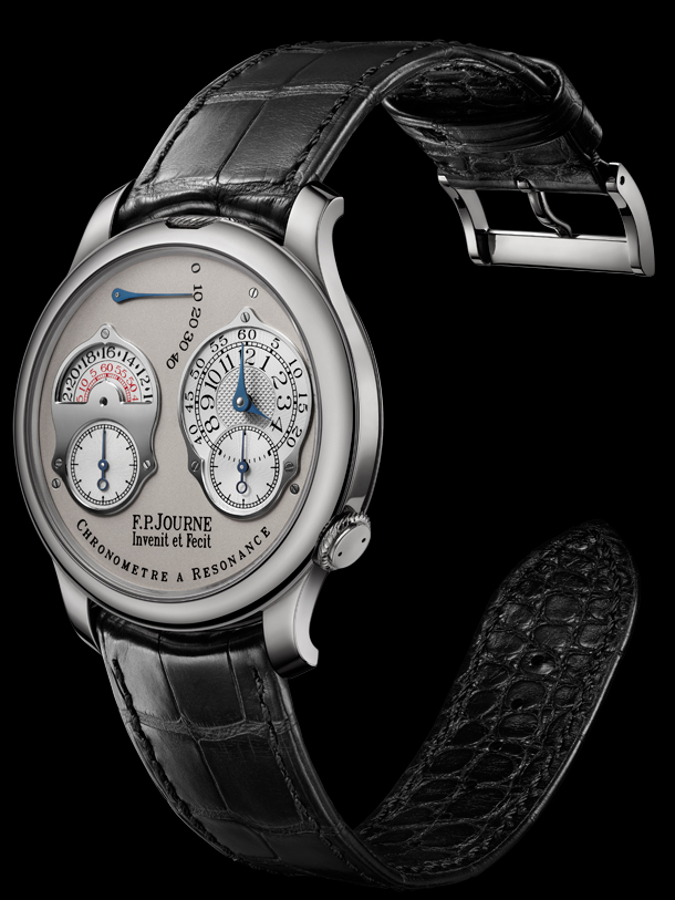 F.P. Journe Chronometre a Resonance 2010 Platinum Side