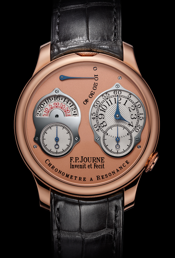 F.P. Journe Chronometre a Resonance 2010 Rose Gold