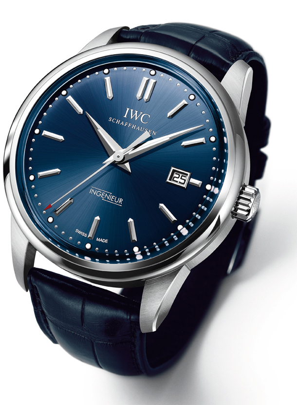 IWC Ingenieur Automatic Edition Laureus Sport For Good Foundation IW323310 Press