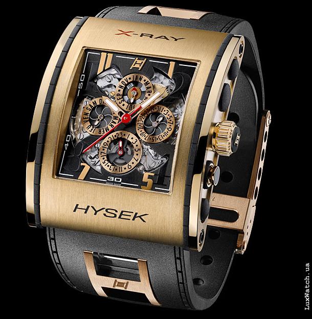 X Ray Calendar : Часы hysek haute horlogerie ray