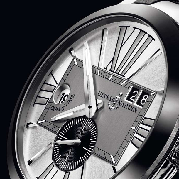 Ulysse Nardin Executive Dual Time 243-00-3/421 Zoom