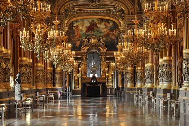 Opera Garnier Paris Interior