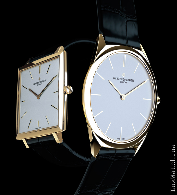 Vacheron Constantin Historique Ultra-fine 1955 and 1968 43043/000R-9592 and 33155/000R-9588