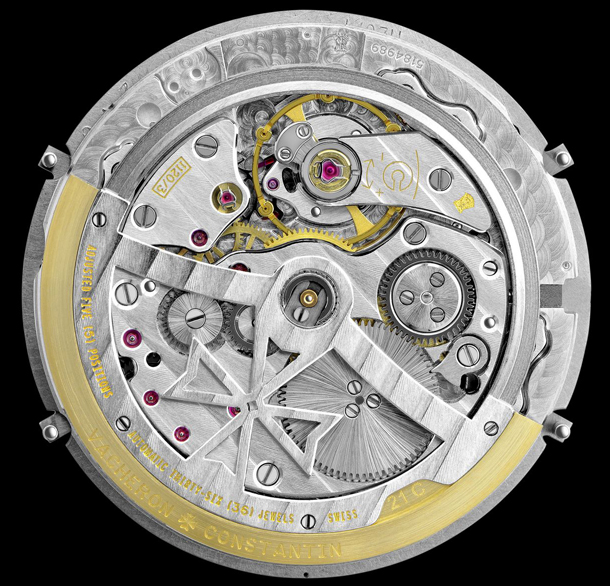 Vacheron Constantin Patrimony Contemporaine Perpetual Calendar 43175/000R-9687 Movement Back