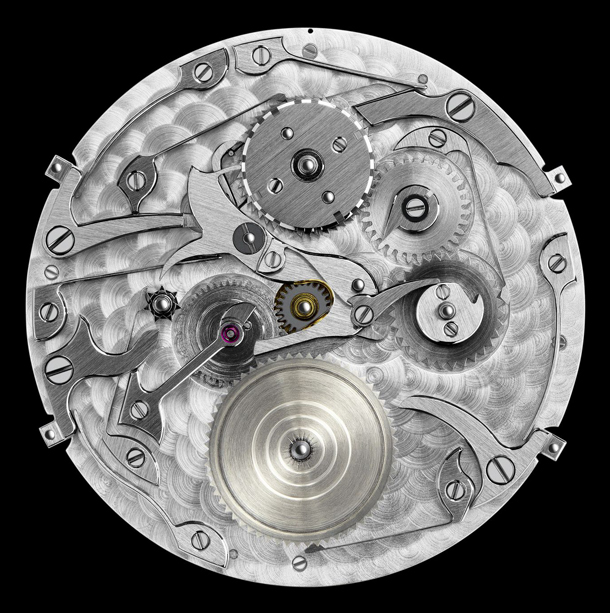 Vacheron Constantin Patrimony Contemporaine Perpetual Calendar 43175/000R-9687 Movement Face