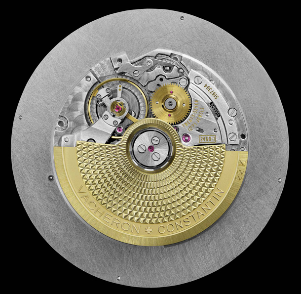 Vacheron Constantin Patrimony Traditionnelle World Time 86060_000R-9640 Movement Back