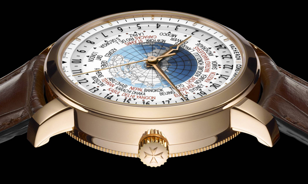 Vacheron Constantin Patrimony Traditionnelle World Time 86060_000R-9640 Profil