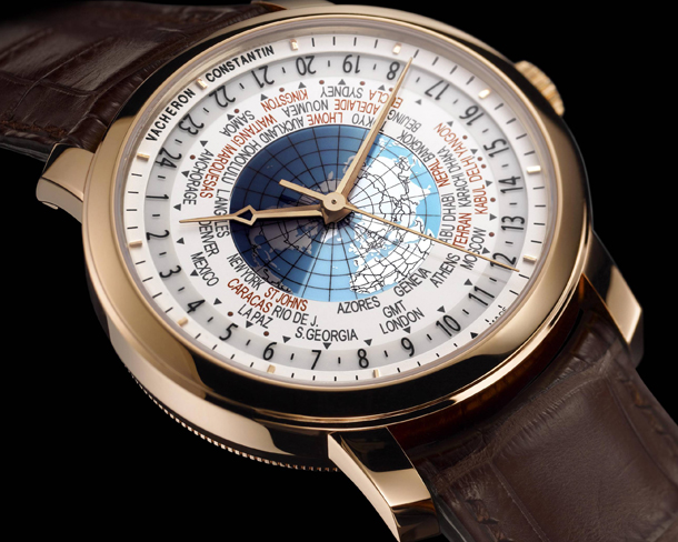 Vacheron Constantin Patrimony Traditionnelle World Time 86060/000R-9640 Side