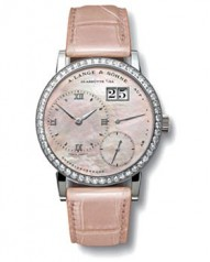 A. Lange and Sohne » _Archive » Little Lange 1 `Soiree` » 813.035