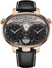 Armin Strom » Armin Strom » Dual Time Resonance Sapphire » Dual Time Resonance RG