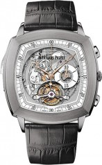 Audemars Piguet » _Archive » Classic Tradition Tourbillon Minute Repeater Chronograph » 26573TI.OO.D112CR.02
