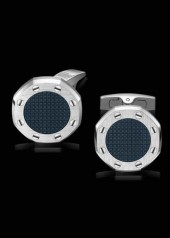 Audemars Piguet » Cufflinks » Royal Oak Cufflinks » Cufflinks Steel Blue Center