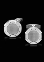 Audemars Piguet » Cufflinks » Royal Oak Cufflinks » Cufflinks Steel Silver Center