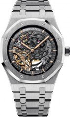 Audemars Piguet » Royal Oak » Double Balance Wheel Openworked » 15407ST.OO.1220ST.01