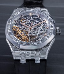 Audemars Piguet » Royal Oak » Double Balance Wheel Openworked » 15469BC.ZZ.D001CR.01