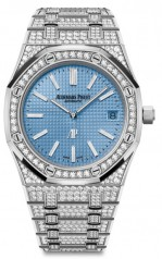 Audemars Piguet » Royal Oak » Extra-Thin Royal Oak 'Jumbo' » 15202BC.ZZ.1241BC.02