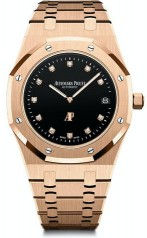 Audemars Piguet » Royal Oak » Jumbo Extra-Thin Diamond » 15207OR.OO.1240OR.01