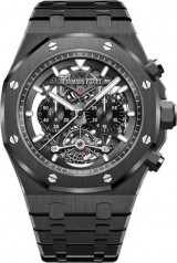 Audemars Piguet » Royal Oak » Tourbillon Chronograph Skeleton » 26343CE.OO.1247CE.01