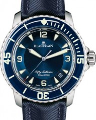 Blancpain » _Archive » 'Fifty Fathoms' Ultra-Slim Limited Edition » 5015-1540-52