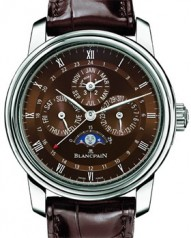 Blancpain » _Archive » Le Brassus Perpetual Calendar GMT » 4277-3446-55B
