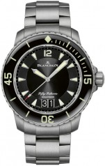 Blancpain » Fifty Fathoms » 'Fifty Fathoms' Automatique Grande Date » 5050-12B30-98