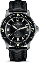 Blancpain » Fifty Fathoms » 'Fifty Fathoms' Automatique » 5015-12B30–B52B