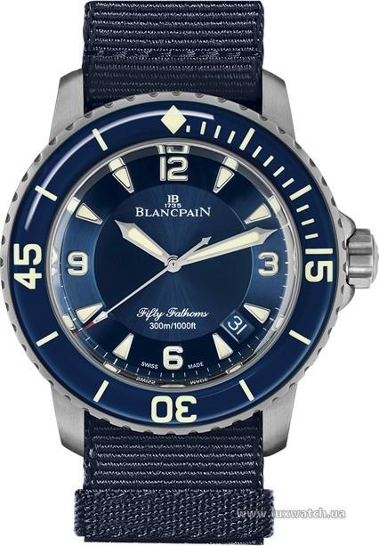 Blancpain » Fifty Fathoms » 'Fifty Fathoms' Automatique » 5015-12B40-NAO A