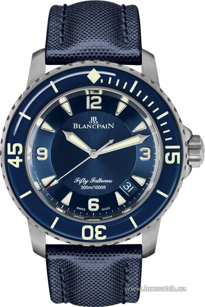 Blancpain » Fifty Fathoms » 'Fifty Fathoms' Automatique » 5015-12B40-O52A