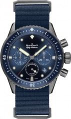 Blancpain » Fifty Fathoms » 'Fifty Fathoms' Bathyscaphe Flyback Chronograph » 5200-0240-NAOA