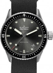 Blancpain » Fifty Fathoms » 'Fifty Fathoms' Bathyscaphe » 5000-1110-NABA