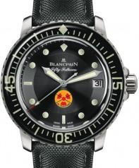 Blancpain » Fifty Fathoms » 'Tribute to Fifty Fathoms' » 5015B-1130-52A