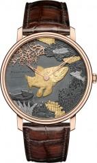 Blancpain » Villeret » Cadran Shakudo » 6615-3616-55B Fish