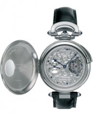 Bovet » _Archive » Complications 8-Day Tourbillon Hunter Case » WG SilverDial