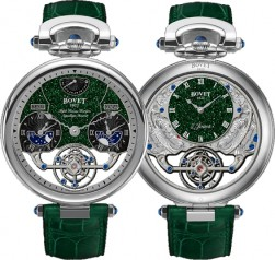 Bovet » Fleurier Amadeo Grand Complications » Fleurier 46 Tourbillon Rising Star Triple Time Zone Tourbillon Reversed Hand-Fitting » AIRS026