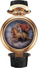 Bovet » Fleurier Amadeo » Fired Enamel Miniature Painting by Ilgiz F. » AF43590-PU-P