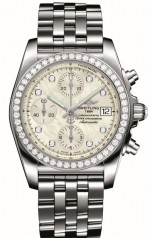 Breitling » _Archive » Chronomat 38 SleekT » Chronomat 38 SleekT Diamond Bezel