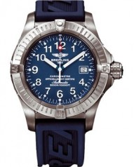 Breitling » _Archive » Aeromarine Avenger Seawolf Titanium » E1770C8 Blue-Rub