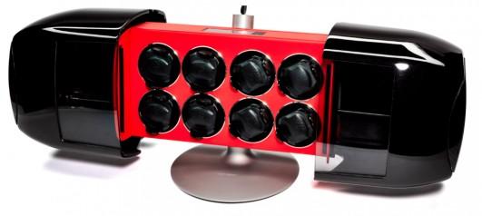 Buben & Zorweg » Шкатулки для часов с автоподзаводом » Time Mover Phantom » Time Mover Phantom Red Carbon 8