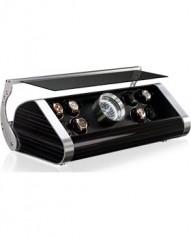 Buben & Zorweg » Шкатулки для часов с автоподзаводом » Time Mover Revolution V 8 » Revolution V8 Ebony Grigio