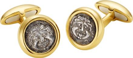 Bvlgari » Jewelry » Запонки Monete » 309385