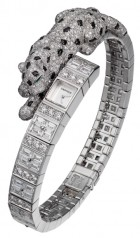 Cartier » Bestiaire » High Jewelry Panthere Asymetrique » HPI01001