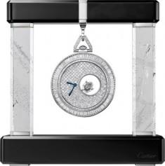 Cartier » Rotonde de Cartier » Pocket Watch Mysterious Double Tourbillon » HPI01075