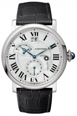 Cartier » Rotonde de Cartier » Small Complication 2 Time Zone Retrograde, Day & Night, Large Date, Small Second » W1556368
