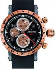 Chronoswiss » Sport » Timemaster Chronograph GMT » CH 7535 R G