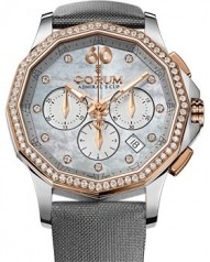 Corum » Admiral`s Cup » Admiral`s Cup Legend 38 Lady Chronograph » 132.101.29/F149 PK10