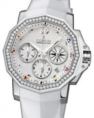 Corum » _Archive » Admiral`s Cup Challenger 40 Chrono Diamonds » 984.970.47/F379 AA12