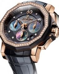 Corum » _Archive » Admiral`s Cup Challenger 40 Chrono Diamonds » 984.970.85/0081 PN36