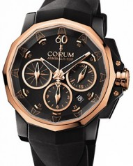 Corum » _Archive » Admiral's Cup Challenge Black & Gold 44 » 753.691.93/F371 AN32