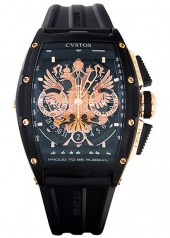 Cvstos » Chronograph » Challenge Chrono Depardieu LE 'Proud to be Russian' » Challenge Chrono 'Proud to be Russian' Black
